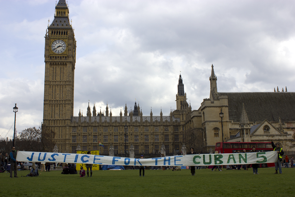 Justice for the Cuban 5 London April 2012 -1-