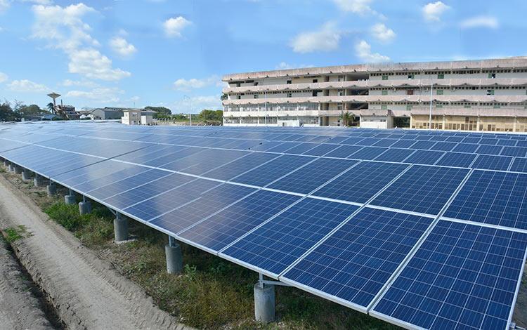 Cuba solar energy
