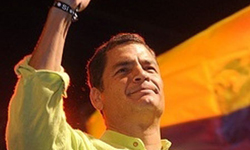 Correa wins 2013 election