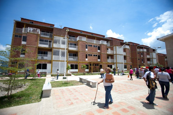 Venezuelan housing mission in Caribia