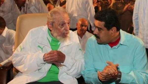 fidel and maduro